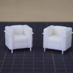 建築モデル用ソファー。